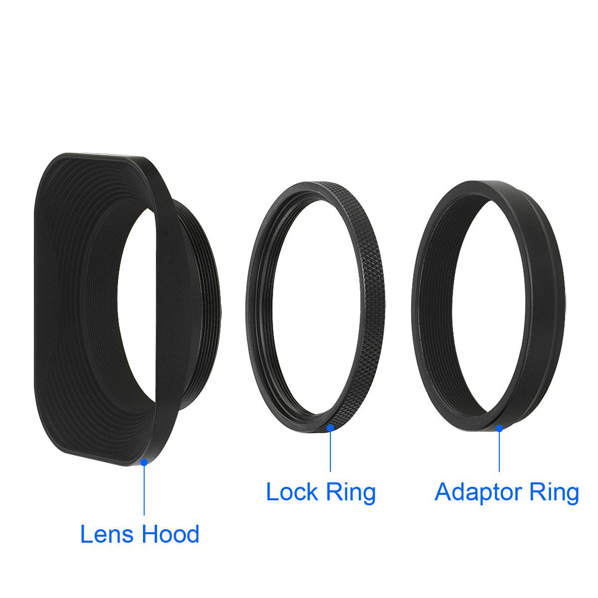 Lh E3t Metall Sonnenblende Lens Hood F 252 R Fujifilm X100s